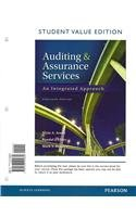 Auditing and Assurance Services: Student Value Edition  2013 edition cover