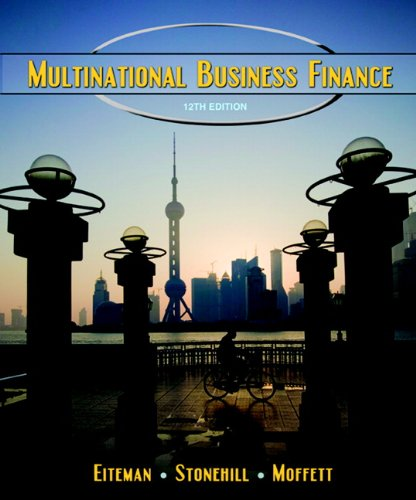 Multinational Business Finance  12th 2010 edition cover