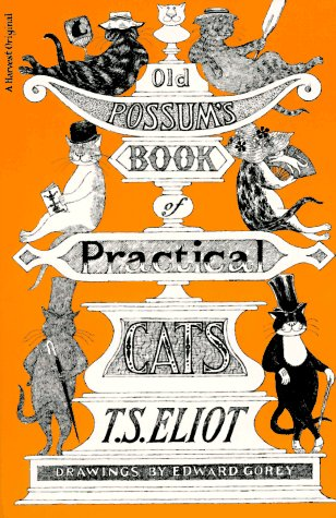 Old Possum's Book of Practical Cats   1967 edition cover