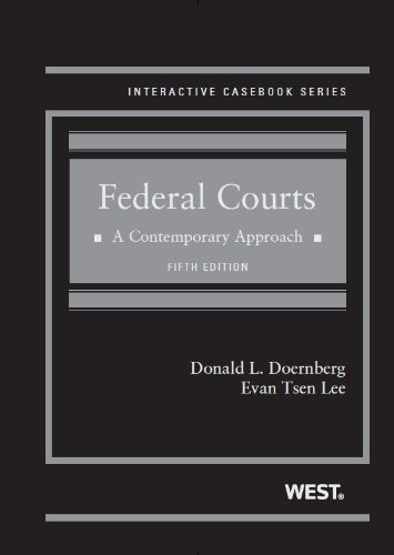 Federal Courts: A Contemporary Approach  2013 edition cover