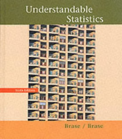 Understandable Statistics Concepts and Methods 6th 1999 edition cover