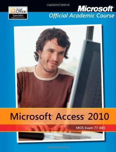 Microsoft Access 2010   2012 edition cover