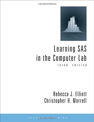 Learning SAS in the Computer Lab  3rd 2010 edition cover