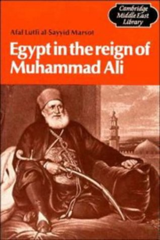 Egypt in the Reign of Muhammad Ali   1984 edition cover