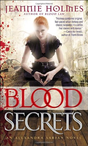 Blood Secrets An Alexandra Sabian Novel N/A 9780553592689 Front Cover