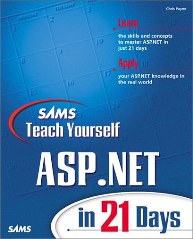 Teach Yourself ASP.Net in 21 Days   2001 9780672321689 Front Cover