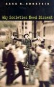 Why Societies Need Dissent   2003 edition cover