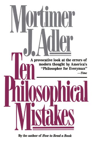 Ten Philosophical Mistakes   1997 edition cover