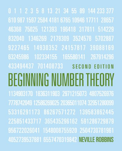 Beginning Number Theory  2nd 2006 (Revised) edition cover