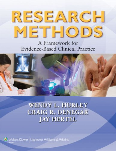 Research Methods A Framework for Evidence-Based Clinical Practice  2011 edition cover