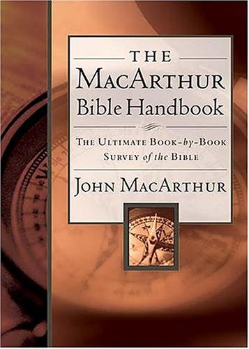 MacArthur Bible Handbook   2003 edition cover