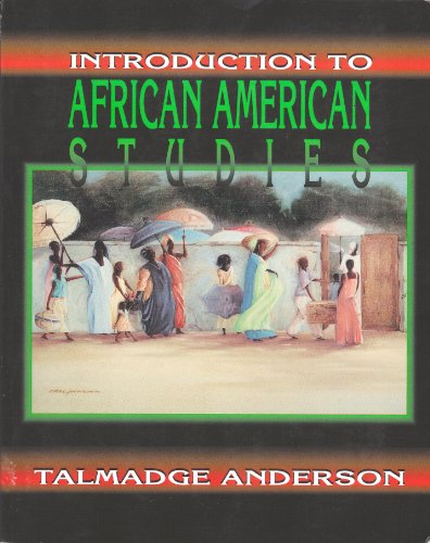 Introduction to African American Studies   1994 (Revised) edition cover
