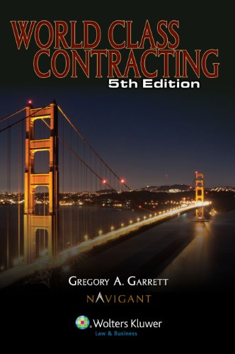 World Class Contracting  N/A 9780808025689 Front Cover