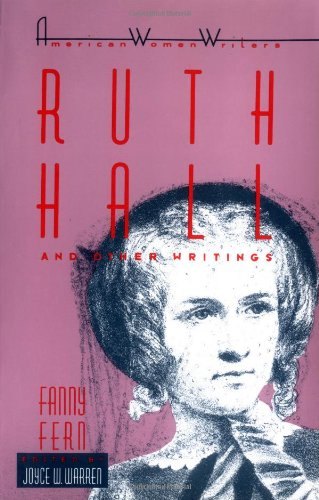 Ruth Hall and Other Writing   1986 edition cover