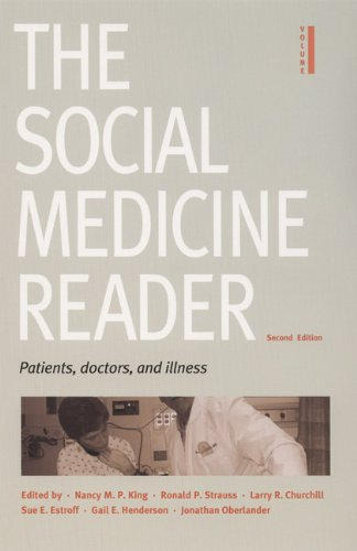 Patients, Doctors, and Illness  2nd 2005 edition cover