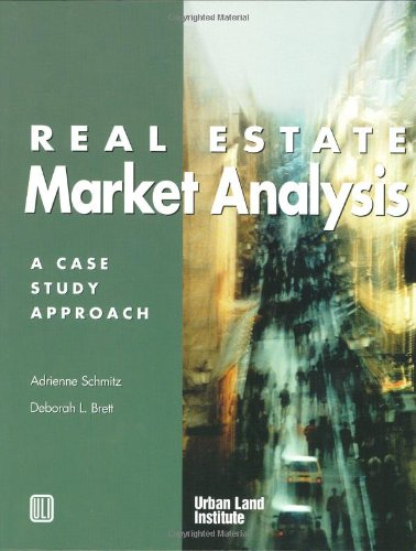Real Estate Market Analysis A Case Study Approach N/A edition cover