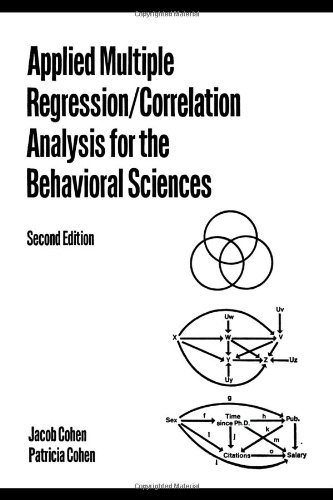 Applied Multiple Regression/Correlation Analysis for the Behavioral Sciences  2nd 1984 (Revised) edition cover