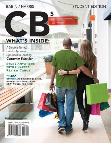 CB5 (With Marketing Coursemate With Ebook Printed Access Card):  1st 2013 edition cover