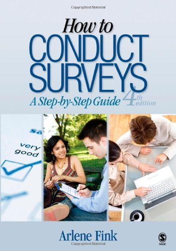 How to Conduct Surveys A Step-by-Step Guide 4th 2009 edition cover