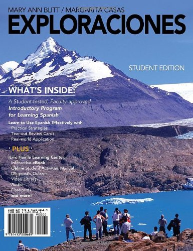 Exploraciones   2012 edition cover
