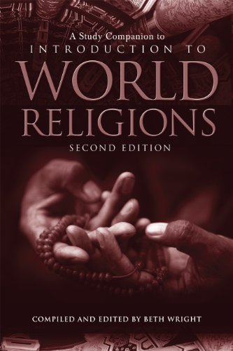 A Study Companion to Introduction to World Religions:   2013 edition cover