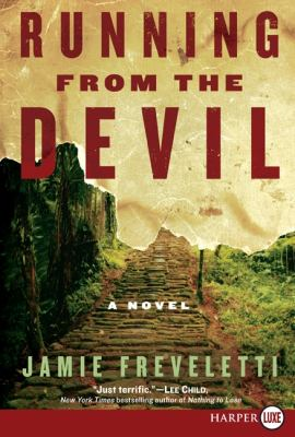 Running from the Devil A Novel Large Type  9780061774690 Front Cover