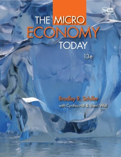 Micro Economy Today with Connect Plus  13th 2013 edition cover