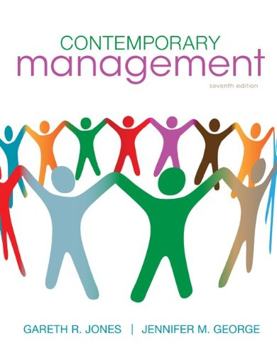 Contemporary Management  7th 2011 edition cover