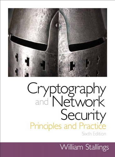 Cryptography and Network Security Principles and Practice 6th 2014 edition cover