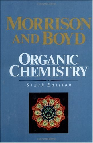 Organic Chemistry  6th 1992 (Revised) edition cover