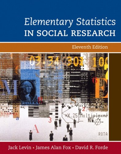Elementary Statistics in Social Research  11th 2010 edition cover