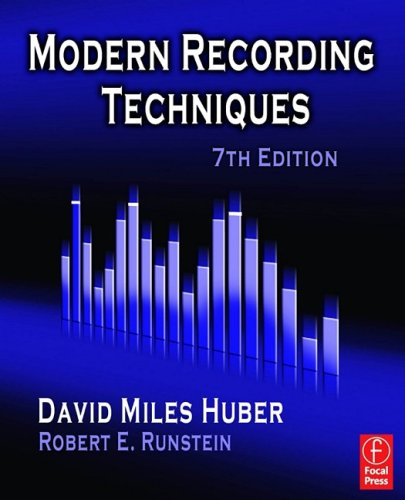 Modern Recording Techniques  7th 2009 (Revised) edition cover