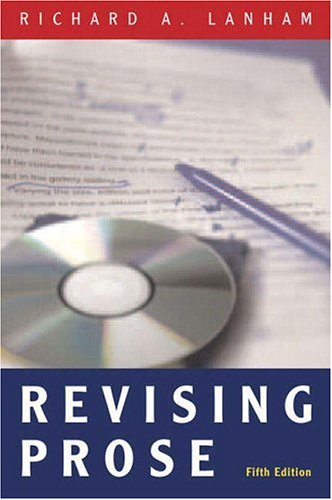 Revising Prose  5th 2007 edition cover