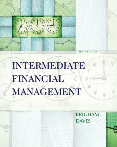 Intermediate Financial Management (with Thomson ONE - Business School Edition 6-Month Printed Access Card)  10th 2010 edition cover