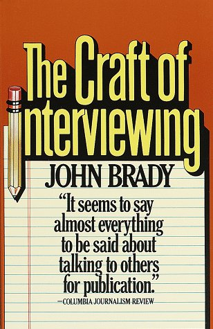 Craft of Interviewing  N/A edition cover