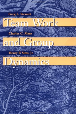 Team Work and Group Dynamics   1999 edition cover