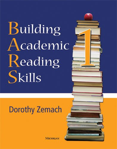 Building Academic Reading Skills   2009 9780472033690 Front Cover