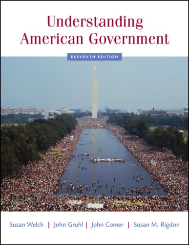 Understanding American Government  11th 2008 (Revised) 9780495098690 Front Cover