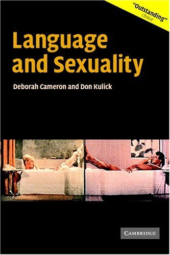 Language and Sexuality   2003 9780521009690 Front Cover