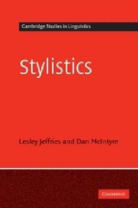 Stylistics   2010 edition cover