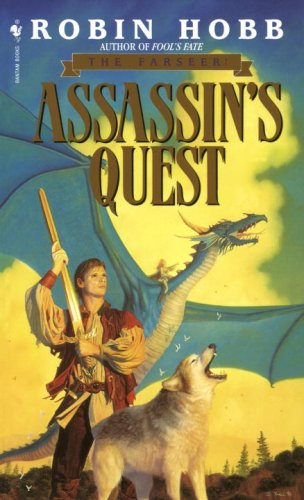 Assassin's Quest The Farseer Trilogy Book 3  1997 (Reprint) 9780553565690 Front Cover
