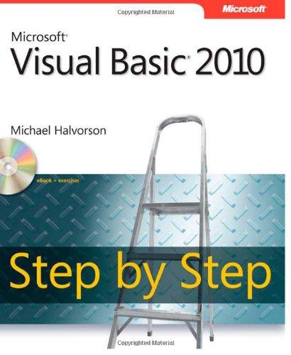 Microsoft� Visual Basic� 2010   2010 edition cover