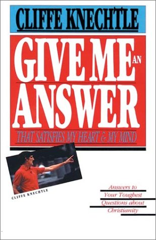 Give Me an Answer  N/A 9780877845690 Front Cover