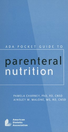 ADA Pocket Guide to Parenteral Nutrition  2007 edition cover