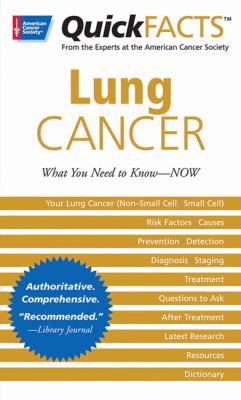 Lung Cancer   2007 9780944235690 Front Cover