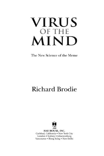 Virus of the Mind The New Science of the Meme N/A edition cover
