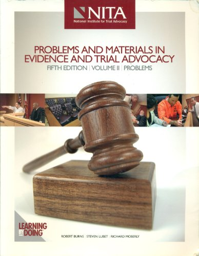 Probs+Materials in Evd. +Trial. Ad V2  N/A edition cover