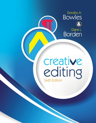 Creative Editing  6th 2011 edition cover