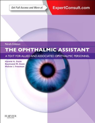 Ophthalmic Assistant A Text for Allied and Associated Ophthalmic Personnel 9th 2013 edition cover