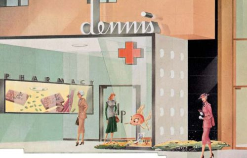 Shop America Mid-Century Storefront Design, 1938-1950  2007 9783822842690 Front Cover